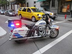 Vancouver Police Motorcycle