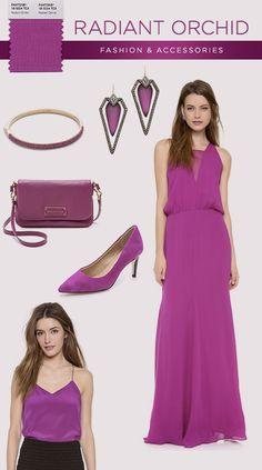 Pantone 2014: Radiant Orchid Fashion