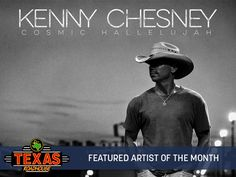 We love our Artist of the Month Kenny Chesney! Check out his new album.