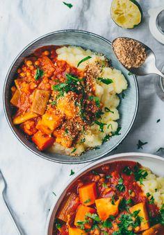 Rezept. Gemüse Ragout mit Sellerie Kartoffel Stampf. - Klara`s Life