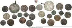RITTER Reichsstadt Augsburg, Kleinmünzen-Lot 1560-1805 #coins