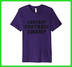 Mens Fantasy Football Champ - Funny Sports Gift T-Shirt 3XL Purple - Fantasy sci fi shirts (*Amazon Partner-Link)