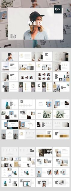 WOULES - Powerpoint Template. Presentation Templates