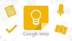 Cómo crear y organizar notas en Google keep google-keep