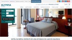 Estrenamos nueva web en Olympia hotel Valencia. Echa un vistazo y conoce nuetsras novedades :)