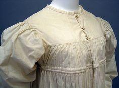 Dress 1810-20 linen