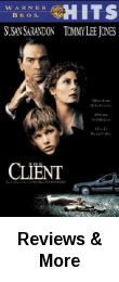 The Client is a 1994 American legal thriller film directed by Joel Schumacher, and starring Susan Sarandon, Tommy Lee Jones and Brad Renfro in his film debut. It is based on the novel of the same name by John Grisham. Sarandon was nominated for an Academy Award for Best Actress and won a BAFTA Award for Best Actress in a Leading Role.
