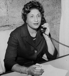 """""""Constance Baker Motley broke many legal & political barriers throughout her lifetime. After graduating from Columbia University Law School in 1946, she worked as a lawyer for the NAACP LDF where she was the only female on the team that successfully argued against school segregation in Brown vs. BOE. In 1966, Motley was appointed to a judgeship for the Southern District of NY, making her the 1st black female judge on the federal bench.  In 1982, she became the 1st black woman chief judge."""""""