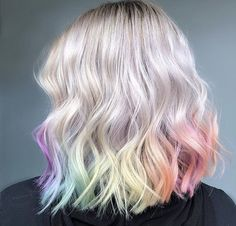 Pastel hair is one of the hottest hair color trends this season. Check out 9 other shades of refreshing spring hair color!