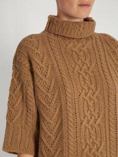 Fair Isle Knitting Patterns, Knitting Stitches, Knitting Designs, Knit Patterns, Cool Sweaters, Cable Knit Sweaters, Sweaters For Women, Brooklyn Tweed, Chunky Knitwear