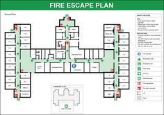 Perfect Fire Escape Plan Software With Rich Examples And Template