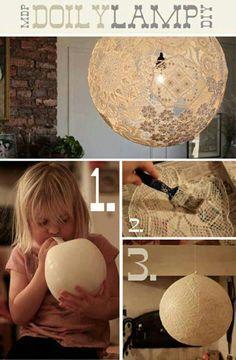 Doiley lamp