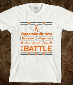 Kidney Cancer Supporting My Hero Shirts v2 #KidneyCancer #KidneyCancerawareness #KidneyCancersupport