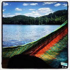 Hammock by Diamond Lake