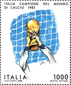 Buy and sell stamps from Italy. Meet other stamp collectors interested in Italy stamps. Football Stickers, Football Art, Italy World Cup, Sell Stamps, Stamp Catalogue, World Star, Fifa World Cup, Stamp Collecting, Postage Stamps