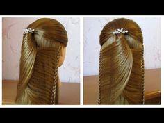 Tuto coiffure simple: belle coiffure facile à faire cheveux long /mi long  Coiffure pour fille - YouTube