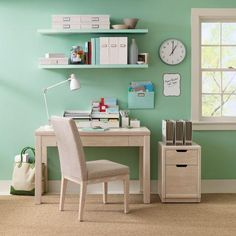New Mission: To convert upstairs room/dumping ground into a gorgeous craft room like this one