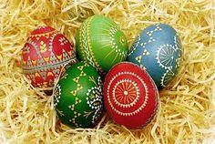 Serbian Easter eggs from Oberlausitz (Upper Lusatia)