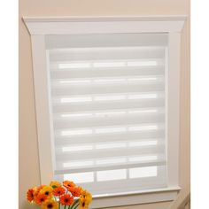 Found it at Wayfair - Cordless Celestial Sheer Double Layered Shade