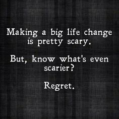 There is nothing more true than this statement! I know that if I never took the chance I did over a year ago, I would not be where I am today. I am so proud of that major step I took to better myself. Sure I doubted the whole challenge, but I felt like I had no other choice. My health was on a steady decline and I didn't even have enough energy to be there with my family. I was always tired and made excuse after excuse of why I had no time to take care of my health.