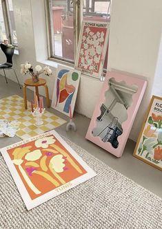 Home Bedroom, Bedroom Decor, Design Bedroom, Pastel Room, Living Vintage, Pretty Room, Dream Apartment, Aesthetic Room Decor, Dream Decor