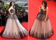 Actress Mallika Sherawat also made her second and impressive appearance at the Cannes red carpet. She walked the red carpet in a black strapless Dolce & Gabbana.  (Reuters)