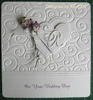 Card for my son on his Wedding Day  October 12, 2012.  I love him and my future daughter in law.  :) :)