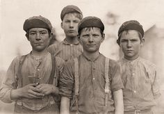 The History Place - Child Labor in America 1908-12: Lewis Hine Photos - Faces of Lost Youth