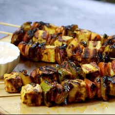 grilled tofu skewers | tofu tikka recipe | tawa tofu tikka | Restaurant Style| Sowjis Kitchen Tufu Recipes, Vegan Dinner Recipes, Vegan Dinners, Cooking Recipes, Healthy Recipes, Tikka Recipe, Masala Curry, Grilled Tofu, Healthy Protein