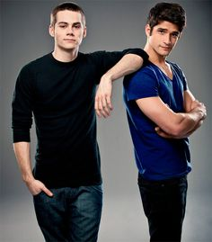 Dylan O'brien & Tyler Posey *swooning all over the damn place*
