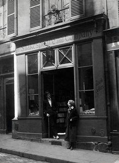 James Joyce & Sylvia Beach