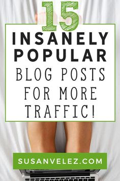 Ever wonder which types of blog posts work for driving traffic to your site? I've uncovered 15 types of blog posts that you can start using to grow your blog. Use these blogs as a part of your content marketing to start seeing results quickly. #blogging #contentmarketing