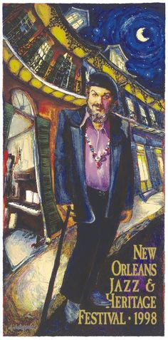 60: Dr John (The Night Tripper). When Mac Renneback was young, hos father took him along on the work he did--repairing PA systems and speakers in nightclubs and juke joints around New Orleans. Mac loved the music he heard, and grew up to perform it. Voodoo that's good for you.