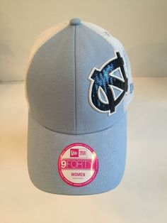 UNC North Carolina Tar Heels New Era 940 Sequin Women s Baseball Hat NWT   24  NewEra  BaseballCap ed52d4073053