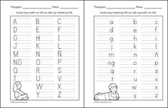 Posts about alpabetong Filipino worksheets written by samutsamot_mom 1st Grade Reading Worksheets, Alphabet Tracing Worksheets, Printable Alphabet Letters, Alphabet Worksheets, Kindergarten Worksheets, Printable Worksheets, Free Worksheets, Nursing Printables, Filipino Words
