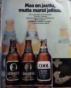 Good Old Times, Corona Beer, Old Ads, Vintage Ads, Beer Bottle, Finland, Nostalgia, Magazine, Drinks
