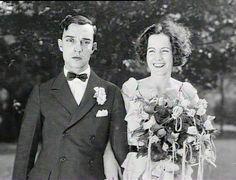 Buster Keaton and Natalie Talmadge's wedding May 31,1921.