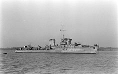 ORP Błyskawica (H34) is a Grom class destroyer which served in the Polish Navy during World War II.