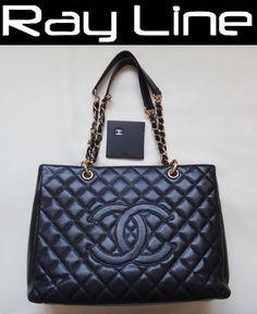578be16d9f Details about 100% Authentic  CHANEL  Matelasse Shoulder Bag Caviar  G-Metals Black Mint (Used)
