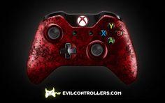 XboxOneController-RedUrban | Flickr - custom xbox one controller
