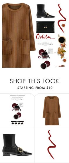 """""""One Sunday in Autumn"""" by pattykake ❤ liked on Polyvore featuring Prada, Topshop, Jimmy Choo and Garance Doré"""