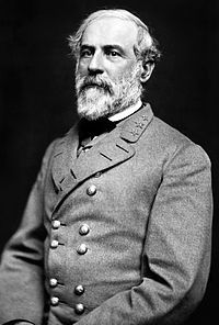 "Robert Edward Lee.  #Comandante do Exército Confederado da Virginia do Norte durante a ""Guerra de Secessão""(1860-1865)."