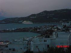 Mikonos ao anoitecer: o agito já vai começar- Grecia