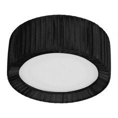 Lampa sufitowa plafon Nowodvorski ALEHANDRO black 25 5346 czarna