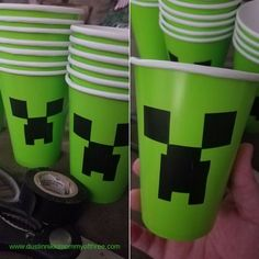 Affordable Minecraft Party and Snack Ideas (and where to get free printables) #minecraft #partyideas « DustinNikki Mommy of Three