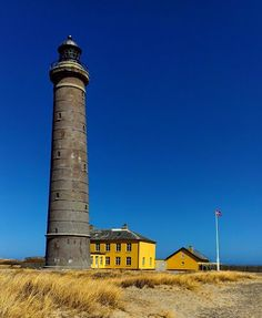 The Skagen lighthouse, Denmark