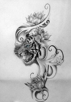 Tiger Tatt2 by kaz-zan.deviantart.com on @deviantART