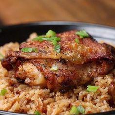 Paprika Chicken & Rice Bake