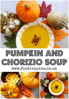 Pumpkin and Chorizio Soup | Foodie Quine - Edible Scottish Adventures Quick Soup Recipes, Chowder Recipes, Chicken Soup Recipes, Chili Recipes, Vegan Soup, Healthy Soup, Healthy Eating, Roasted Red Pepper Soup, Healthy Halloween Snacks