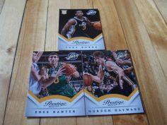 Trey Burke RC Gordon Hayward Enes Kanter 2013 14 Panini Prestige Utah Jazz Lot | eBay